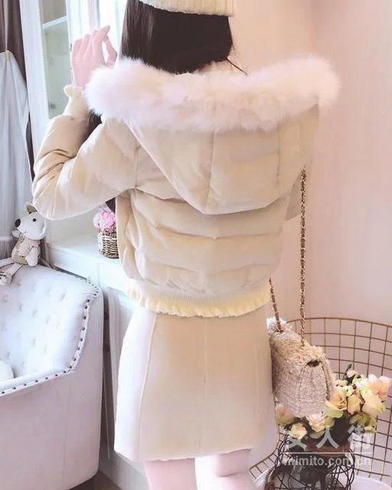 2018最流行公主风棉服, 美到让人羡慕